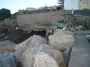 O BNG detecta riscos e falta de seguridade no dique executado por Portos de Galicia en San Cibrao