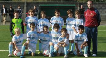 O equipo benxamín da E.F.Viveiro é campión provincial a falta de dúas xornadas para rematar a liga