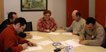 Concello de Burela e CD Burela FS renovaron o convenio de colaboración para a tempada 2010-11