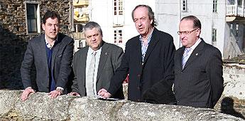 A Deputación asume custes de Mondoñedo nas obras da Ponte do Pasatempo e en Alcántara