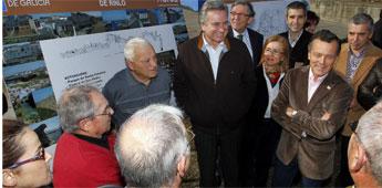 A parroquia ribadense de Rinlo terá un plan con 1,2 millón de euros para equipamento, viales e vivenda