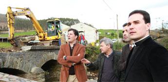 A Deputación aclara que esperou 7 meses pola Xunta para iniciar as obras da Ponte de Arante