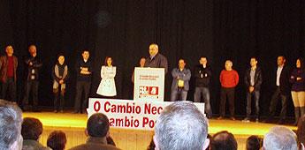 O PSOE de o Valadouro presentou a candidatura para as municipais que encabeza José Luís Garcia Rubal