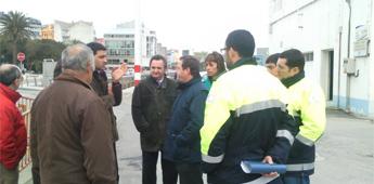 O PP de Foz di que está satisfeito coa visita do director xeral de Portos