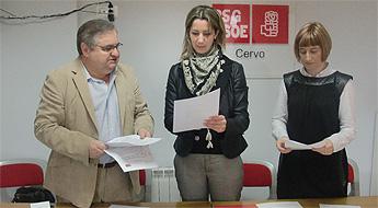 O BNG de Ribadeo presentou a candidatura para as municipais que encabeza Ferando Suarez