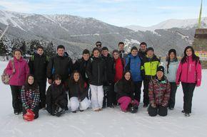 Alumnos de Mondoñedo en Andorra