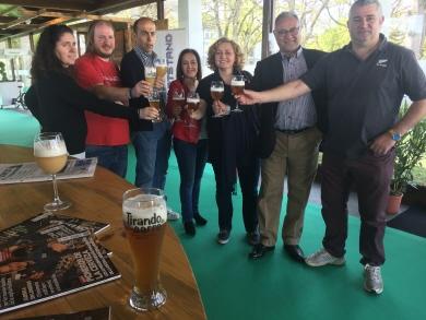 O Goberno da Deputación impulsa a comercialización de cervexa artesá no Máster Nacional de Futbolín