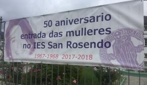 50 Aniversario da entrada das mulleres no IES San Rosendo de Mondoñedo