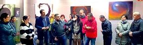 Exposición de gravado e debuxo de Comeluz en Cervo