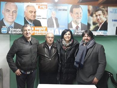 Pepe Peinó será o candidato do PP á alcaldía de Alfoz