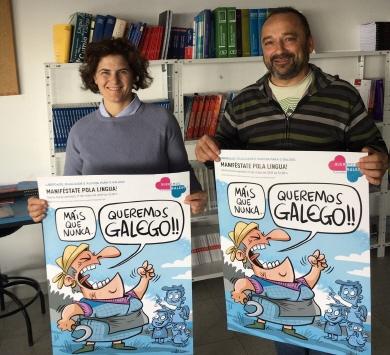 """Queremos Galego sae á rúa na Mariña para esixir """"liberdade, igualdade e xustiza para o galego"""