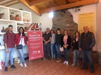 Esta fin de semana tiveron lugar en Mondoñedo e A Pontenova as xornadas de portas abertas das Rutas de Artesanía que organiza a Mancomunidade de Concellos da Mariña