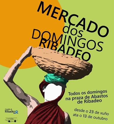 O 23 de xuño arrinca unha nova edición dos mercados dos domingos en Ribadeo na que os produtos da horta local serán os protagonistas