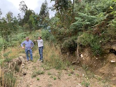 A Xunta formaliza o contrato para a recuperación do xacemento arqueolóxico de Lavandeiras, en Xove