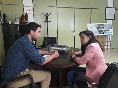A subdelegada do Goberno comprométese co alcalde de Foz a impulsar a mellora do tráfico e a seguridade na N-642