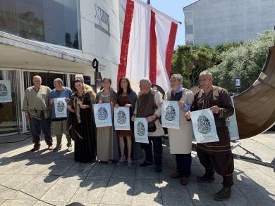 A conselleira do Medio Ambiente, Ánxeles Vázquez, presidiu a presentación en Lugo da Romaxe Viquinga do Vicedo que se celebra esta fin de semana