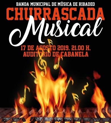 A Banda Municipal de Ribadeo celebrará o seu concerto churrascada no auditorio de Cabanela este sábado. Estará dedicado aos pasodobres