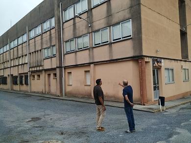 O grupo municipal do PP de Foz soliciata a reforma integral do edificio do IES