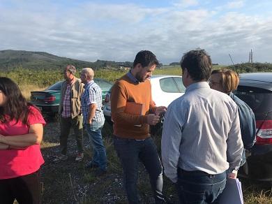 O Alcalde de Foz, Fran Cajoto, anuncia a inminente construción do novo refuxio para a protectora de animais