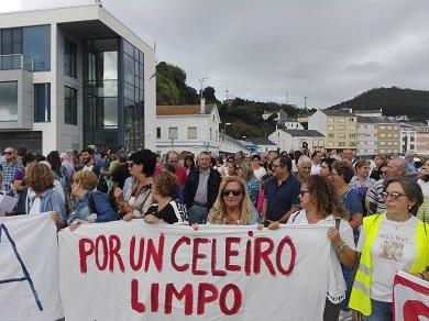 Os socialistas apoian as reivindicacións veciñais para reclamar o saneamento da ría de Viveiro