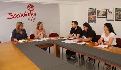 Os socialistas da provinicia anuncian iniciativas no parlamento para denunciar as condicións de traballo dos enfemeiros eventuais
