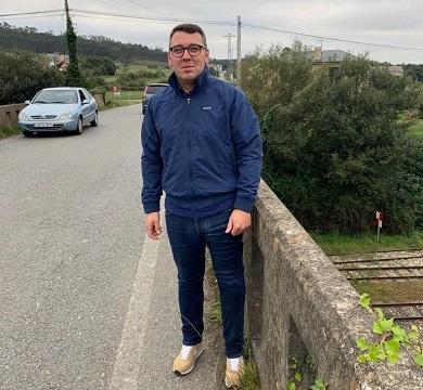 """Daniel Vega afea que """"o máximo representante da Deputación visite Ribadeo e non fale da obra do abastecemento de auga"""""""
