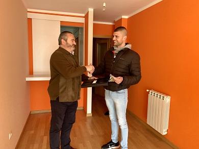 A Xunta entrega dúas vivendas de promoción pública en Mondoñedo e Ribadeo