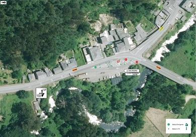 A Xunta reforzará a seguridade viaria na intersección de Landrove, en Viveiro
