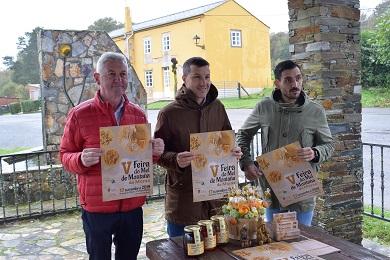 A Deputación promociona o mel da provincia colaborando coa V Feira do Mel de Muras