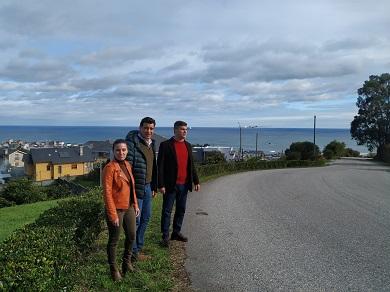 O Grupo Provincial atende a petición dos veciños de Burela e pide á Deputación a mellora da seguridade viaria na LU-P-1502