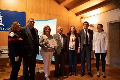 O Colexio Sagrado Corazón, de Ribadeo, recibiu un premio do Certame Irmán Reboiras ás mellores iniciativas de fomento do galego