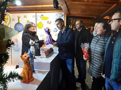 Inaugurado o XVI Mercado do Nadal e acendido o alumeado destas festas en Ribadeo