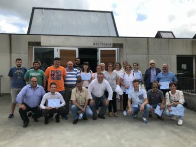 Comeza o obradoiro de emprego Terras do Sor, que ofrece formación e emprego a 20 alumnos traballadores do Vicedo, Ourol e Muras
