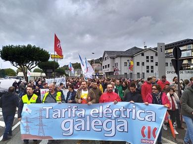 CIG Saúde A Mariña apoia a mobilización de Alcoa en Foz