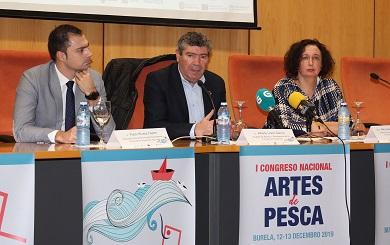Primeira xornada do Congreso Nacional de Artes de Pesca que organiza Expomar