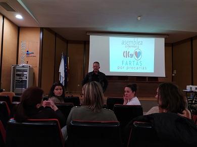 CIG Saúde A Mariña alerta da fuga de profesionais sanitarios a outros territorios en busca de estabilidade laboral fuxindo da precariedade  fomentada pola dirección de enfermaría