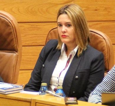 Patricia Otero reclama no Parlamento que a Xunta acondicione a nave de redes de Burela