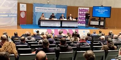 A Xunta trasladou ás entidades deportivas da provincia de Lugo as principais liñas de apoio da Secretaría Xeral para o Deporte