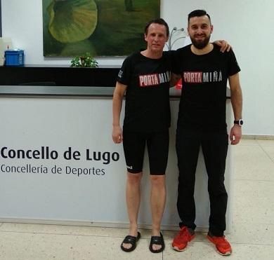 Gran actuación dos mariñáns no Campionato galego Máster de natación de inverno en Lugo