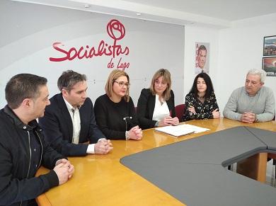 Os socialistas lucenses defenden a Lei da eutanasia que conta co consenso da sociedade