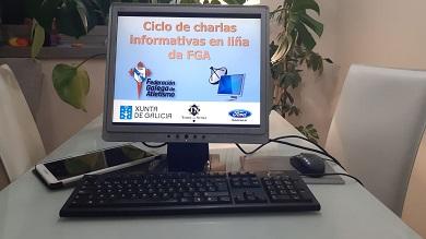 Ciclo de charlas en liña da Federación Galega de Atletismo