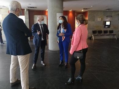 Isabel Rodríguez comproba a posta en marcha do Ingreso Mínimo Vital na provincia