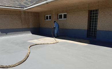 A Xunta completa as obras de impermeabilización da cuberta do colexio de Muras, cun investimento de 15.500 euros