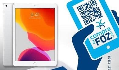 Acia Foz sorteará un iPad de 7ª xeración entre todas as persoas que merquen a través da súa plataforma de venta online ata o 31 de agosto