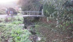 A Xunta acomete traballos de limpeza no leito e as marxes do río Xunqueira e o Rego do Cal, en Viveiro e Muras
