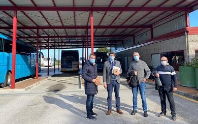 Fernando Suárez asegura que obras realizadas pola Xunta na estación de autobuses de eran moi necesarias e agarda que a administración galega siga a actuar nela
