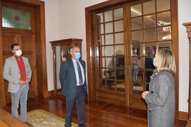 O Alcalde de Foz retoma a actividade pola situación da pandemia en Galicia