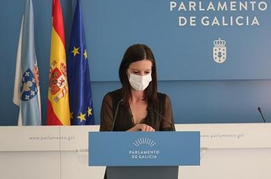 """Caballero denuncia en Lugo que Feijóo """"pechou o grifo aos concellos"""" ao reducir os seus fondos nos orzamentos"""