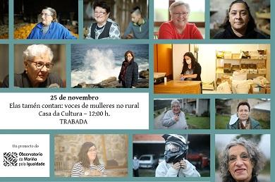O Observatorio da Mariña pola Igualdade porá o foco nas mulleres do rural na semana do 25N