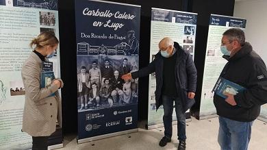 Inaugurada en Viveiro a exposición dedicada a Carvalho Calero